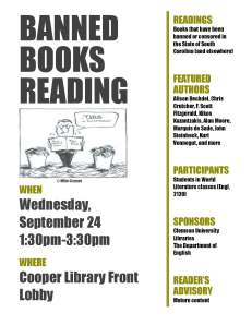 BANNED BOOKS READING flyer updated